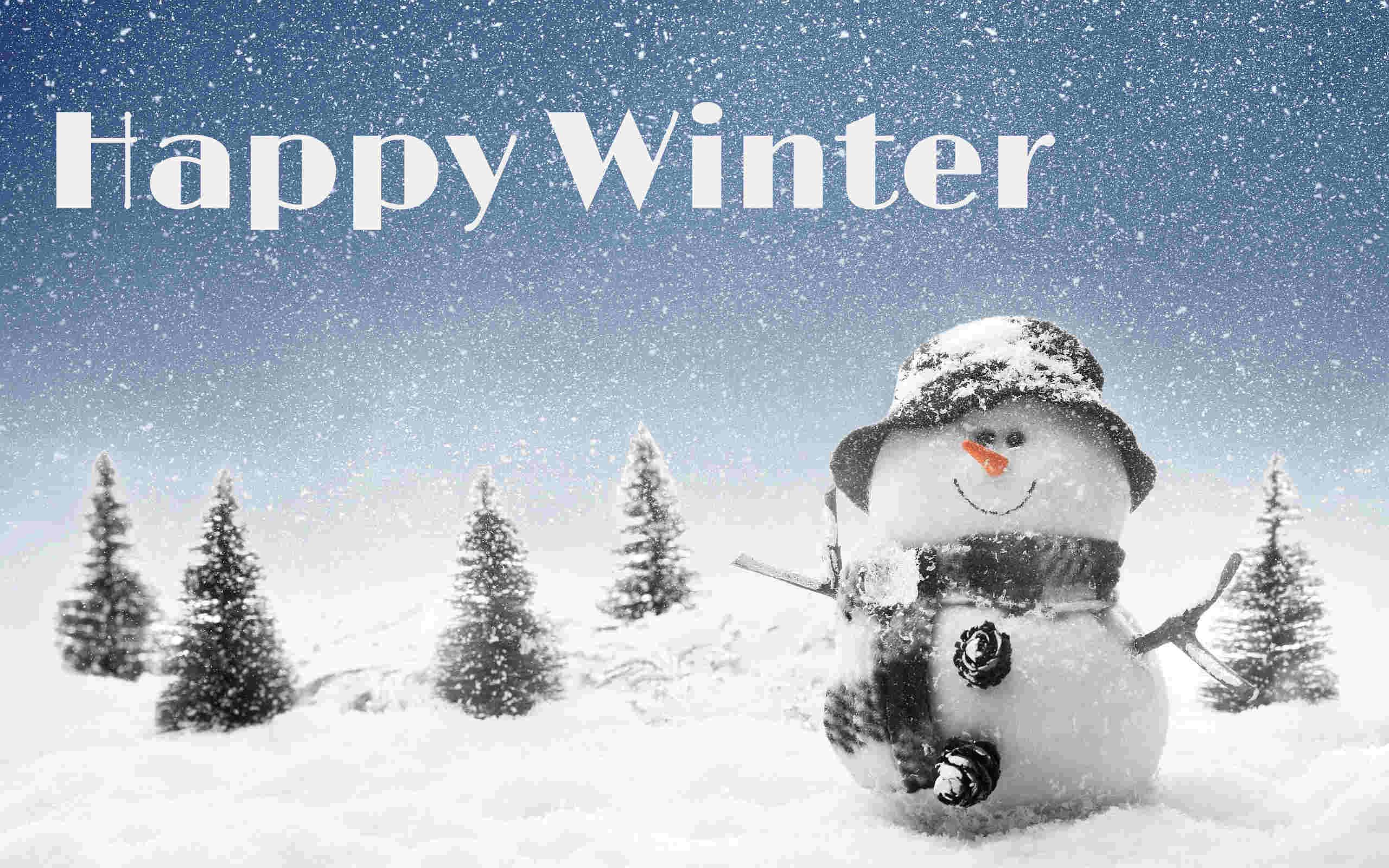 happy winter linux