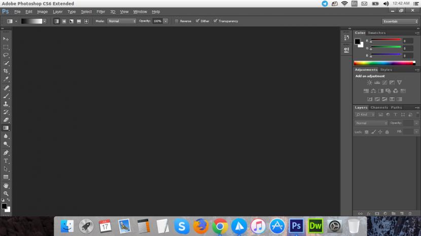 install photoshop CS6 ubutnu