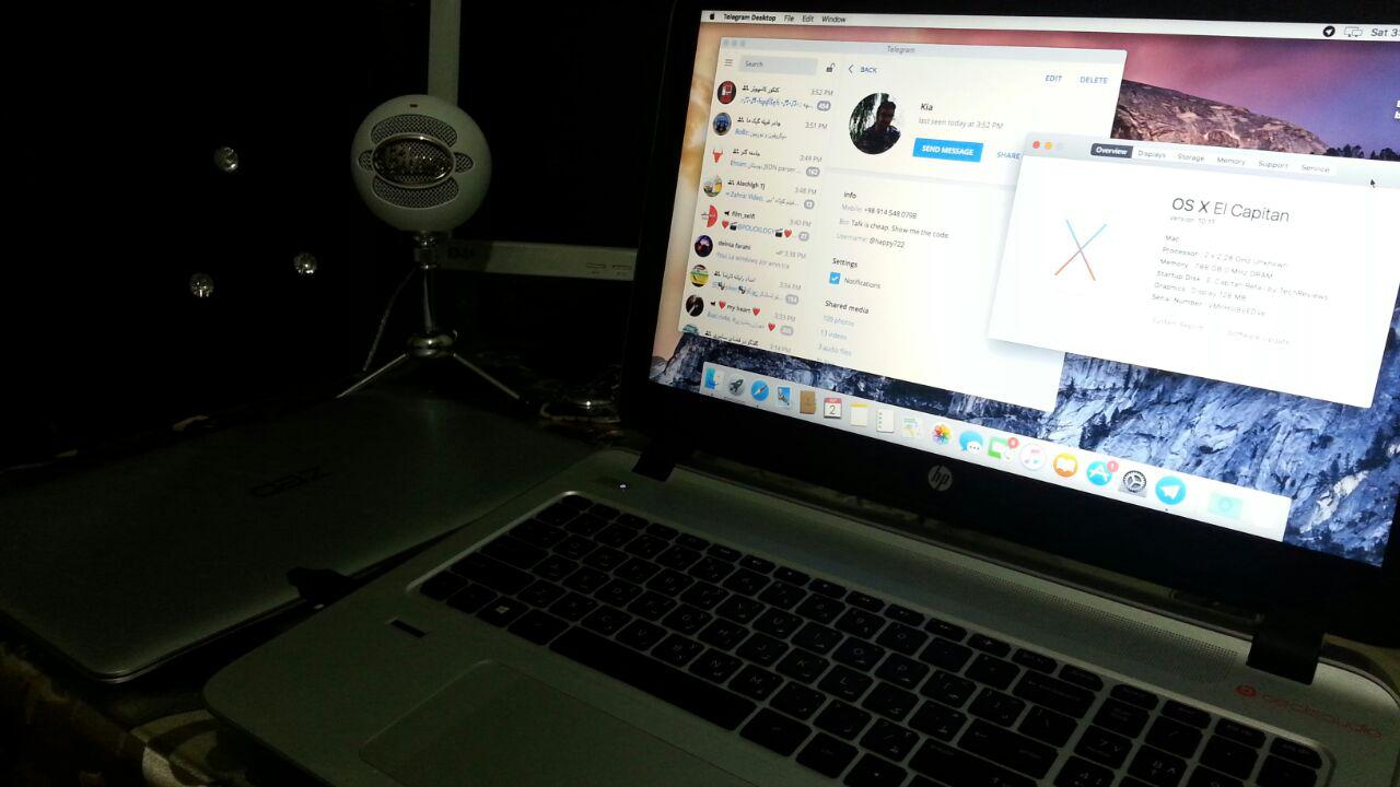 نصب Mac OS روی لینوکس و ویندوز