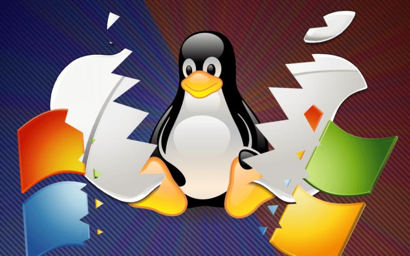 انیمیشن درگیری ویندوز لینوکس و مک